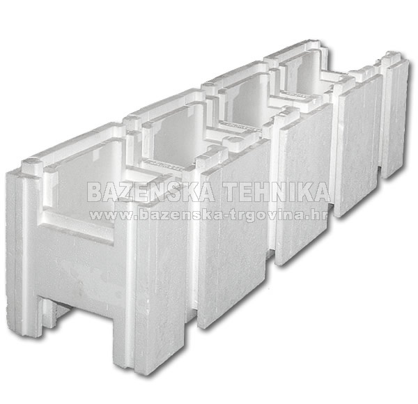 Stiropool blok standard za okrugline web trgovina for Casseri in polistirolo per piscine