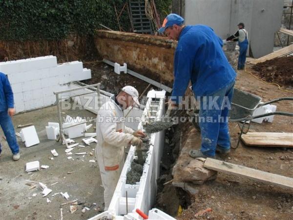 Stiropool blok standard ravni web trgovina bazenska for Casseri in polistirolo per piscine